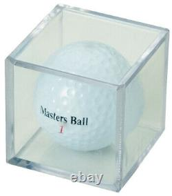(144) Golf Ball Clear Square Cube Stackable Display Case Stand Storage Holders