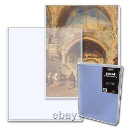 1 Case of 100 BCW Brand 11 x 14 Photo Storage Topload Holder Display Protect