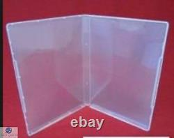 200 Ultra Clear DVD Style Multi Storage Case 14mm Empty Without Disc Holder AAA