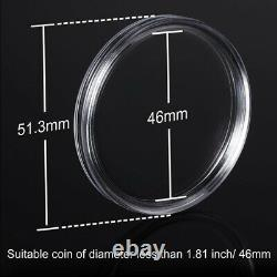 20X40 mm Coin Capsules Coin Case Coin Holder Storage Container with Storage
