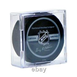 (216) NHL Hockey Puck Square Clear Cube Stackable Display Case Storage Holders