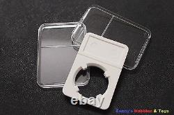 500 x New High Quality Coin Slabs Holder Storage Case (10 40mm) Mix your Size
