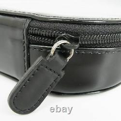 Auth GUCCI Leather CD DVD Blu Ray Carry Case Holder Bag Storage Black 19020b