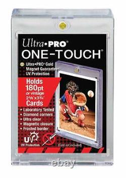 Case 200 Ultra Pro One Touch 180 Pt. Magnetic Thick Card Storage Holder UV-SAFE
