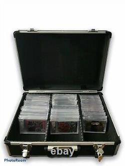 Certified Graded Cards One 1 Touch Mag Holder Storage Case Psa Bgs Mtg Lock C