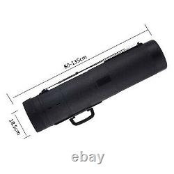 Expanding Poster Document Picture Storage Tube Scroll Holder Carry Case Box