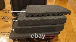 Lot of 2 IP65 Waterproof Storage Travel Cases for Graded Card Slab Holders NEW