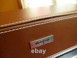 NEW DiscGear Selector 120HD Faux Leather Storage Holder Case CD DVD Games Disc