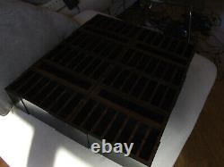 Spe1 Atari / Colecovision Cartridge Holder Storage Case Als A. L. S. 4 Sections 14