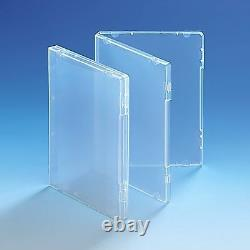 Ultra Clear DVD Style 14mm Spine Multi Storage Case Without Disc Holder HQ AAA